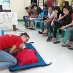"""""""CES Conducts First Aid and Basic Life Support Amidst Brigada Eskwela 2018."""" by Acrima S. Labay"""